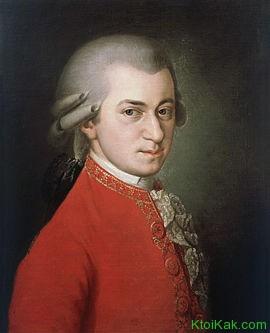 моцарт хронологія